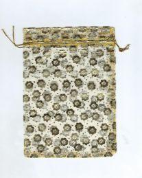 Мешочек для карт Таро из органзы. Золотистый (17*13 см)