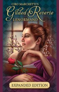 Gilded Reverie Lenormand Expanded Edition (47 карт с золотым обрезом + инструкция на англ. яз.)