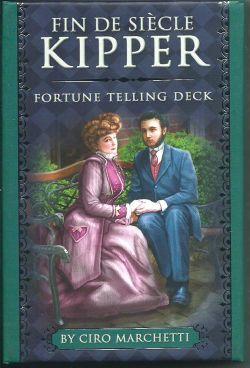 Fin de Siecle Kipper. Fortune Telling Deck.  (39 карт с серебряным обрезом +инструкция на англ. яз. + дополнительно инструкция на русском яз.)