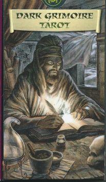 Dark Grimoire Tarot (78 карт +инструкция на англ. яз.)