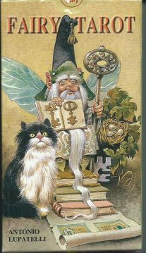 Карты Таро Сказки леса (Fairy Tarot) (78 карт + инструкция на англ. языке).