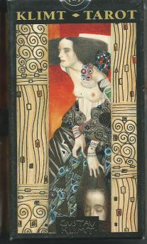 Klimt Tarot (Золотое таро Климта. 78 карт +инструкция на англ. яз.)
