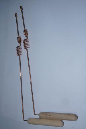 Рамка для биолокации с двумя резонаторами. Медные. ПАРА.