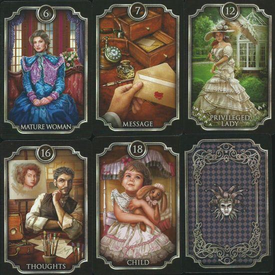 Fin de Siecle Kipper. Fortune Telling Deck. (39 карт с серебряным обрезом +инструкция на англ. яз.)