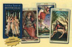 Золотое таро Боттичелли. (78 карт+инструкция).