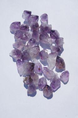 Природный кристалл из аметиста в ассортименте L