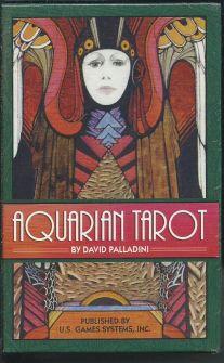 Aquarian Tarot (78 карт + инструкция на англ. яз.)