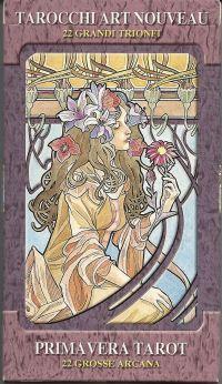 Карты Таро Галерея.  Art Nouveau Tarot  (22 карты старшего аркана + руководство)