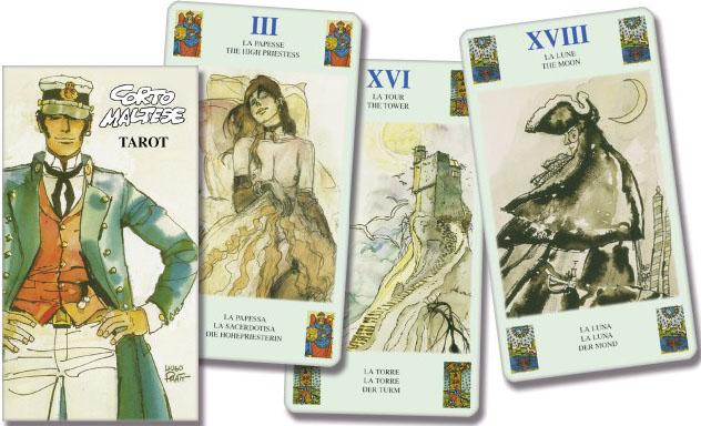 Corto Maltese Tarot. (Таро Мальтийский орден. 78 карт + инструкция на англ. языке).