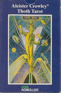 Crowley Thoth Tarot. Standart (Таро Тота Кроули на русском яз.  78 карт + инструкция на русск. яз.).