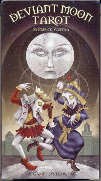 Deviant Moon Tarot (Карты Таро Оборотной Стороны Луны. 78 карт + инструкция на англ. яз.)