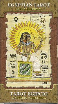 Карты Таро Египетское. Egiptian Tarot (22 карты  старшего аркана + инструкция на англ. яз.)
