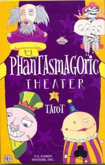 Phantasmagoric Theater Tarot (78 карт + инструкция на англ. яз.)