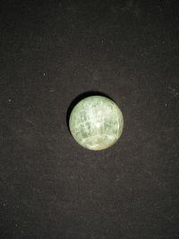 Шар магический из зеленого флюорита №3 36 мм