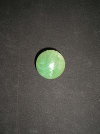 Шар магический из зеленого флюорита №7 43 мм