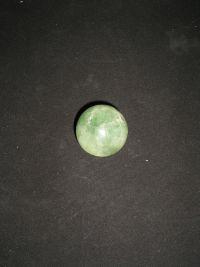 Шар магический из зеленого флюорита №9 42 мм