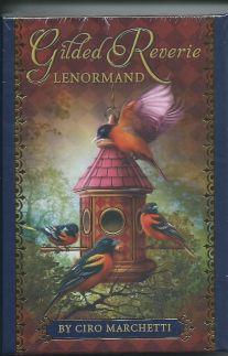 Gilded Reverie Lenormand (Золотые мечты Ленорман 36 карт + иструкция на АНЛИЙСКОМ ЯЗЫКЕ).