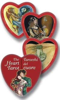 Карты Таро Сердца. (Heart Tarot) (78 карт + инструкциия на англ. яз.)