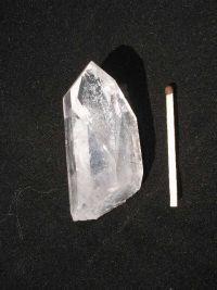 Магический кристалл из горного хрусталя. Необработанный. № 9