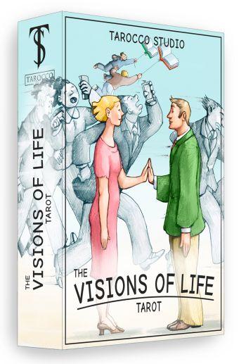 Tarot Visions of life. (Таро Видения Жизни. 78 карт +инструкция на англ. яз.).