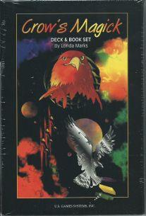 Таро Вороньей магики. Crow's Magick Tarot (подарочный набор 78 карт + книга на англ яз.)