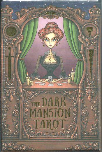 The Dark Mansion Tarot (Таро Темный особняк. Золотой обрез. 78 карт + инструкция)