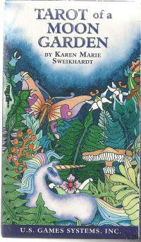 Tarot of a Moon Garden. (Таро Лунного Сада). (78 карт + инструкциия на англ. яз.)