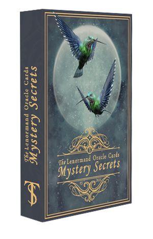 Oracle Lenormand Mystery Secrets (Оракул Ленорман Мистические Тайны. 36 карт + руководство на англ. яз.)