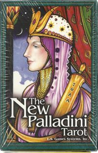 Карты Таро Палладини. The New Palladini Tarot  (78 карт + инструкция на англ. яз.)