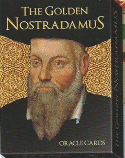 The Golden Nostradamus. Золотой Оракул Нострадамуса. (The Golden Nostradamus Oracle.  30 карт + инструкция на русск. яз.)