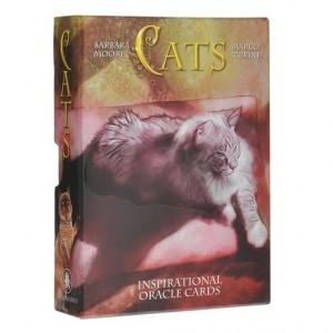 Cats (Оракул Кошек. 32 карты+инструкция на 5 языках)