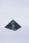 Магическая пирамида из хризоколлы  5*5 см №2