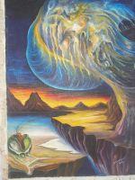 """Плакат для медитаций №27. Серия """"Параллельные миры"""""""