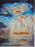 """Плакат для медитаций №28. Серия """"Паралельные миры"""""""