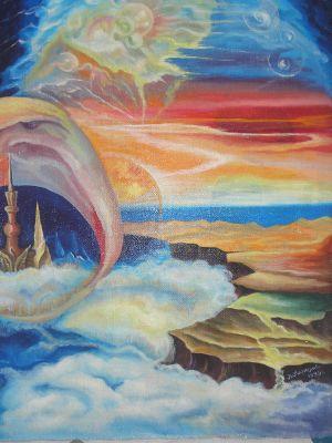 """Плакат для медитаций №33. Серия """"Параллельные миры"""""""