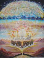 """Плакат  для медитаций № 56,  Серия """"Параллельные миры"""""""