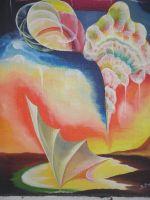 """Плакат для медитаций №60, Серия """"Параллельные миры""""."""