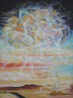 """Плакат для медитаций №62, Серия """"Параллельные миры"""""""