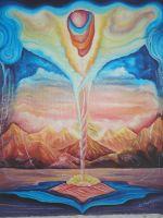 """Плакат для медитаций №63, Серия """"Параллельные миры"""""""