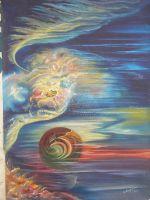 """Плакат для  медитаций №64, Серия """" Параллельные миры"""""""