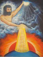 """Плакат для медитаций №68, Серия """" Параллельные миры"""""""