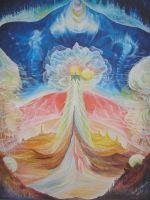 """Плакат для медитаций №69, Серия """"Параллельные миры"""""""