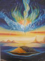 """Плакат для медитаций  №72, серия """"Параллельные миры"""""""