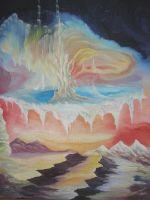 """Плакат для медитаций № 74, Серия  """"Параллельные миры"""""""