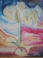 """Плакат для медитаций №76, серия """"Параллельные Миры""""."""