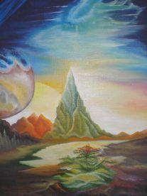 """Плакат для медитаций  № 66. Серия """"Параллельные миры"""""""