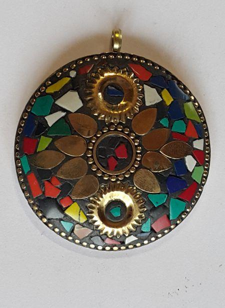 Магическая подвеска с инкрустацией из самоцветов №1 с инкрустацией из самоцветов №13