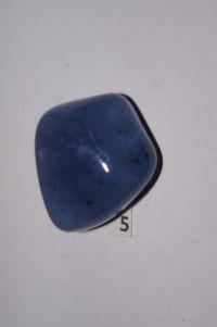 Магический кристалл из сапфирина (голубой халцедон) № 5