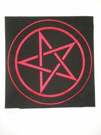 Скатерть Магическая для гадания на картах Таро. Пентаграмма № 1.