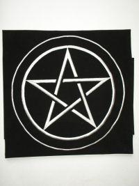Скатерть магическая для гадания на картах Таро. Пентаграмма №2.